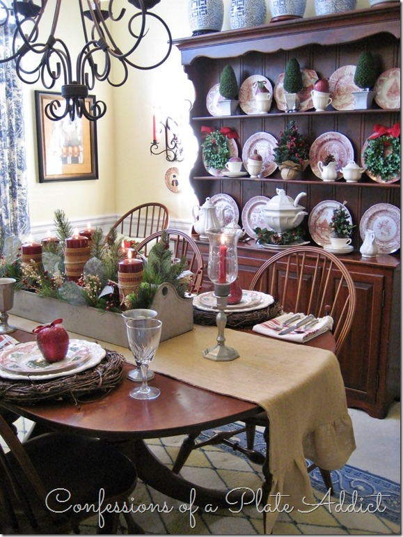 CONFESSIONS OF A PLATE ADDICT A Farmhouse Christmas in the Dining Room