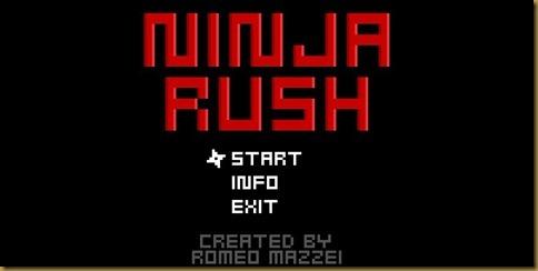 Ninja Rush タイトル