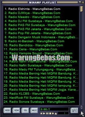 Winamp radio online 3