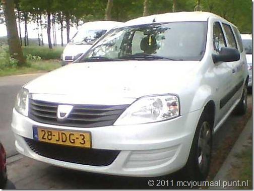 Dacia Logan MCV uitzendkracht 04