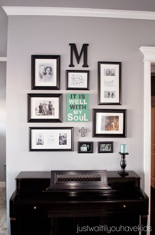 Just Wait til You have Kids | Piano Gallery Wall