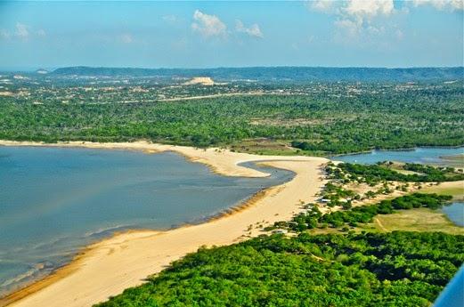 Praia da Salvação, Santarém  - Parà