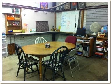 table school room