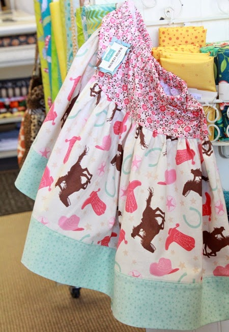 Rodeo Rider fabric skirt