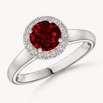 Ruby Ring for valentine day