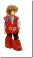 disfraz escolar hippy 1