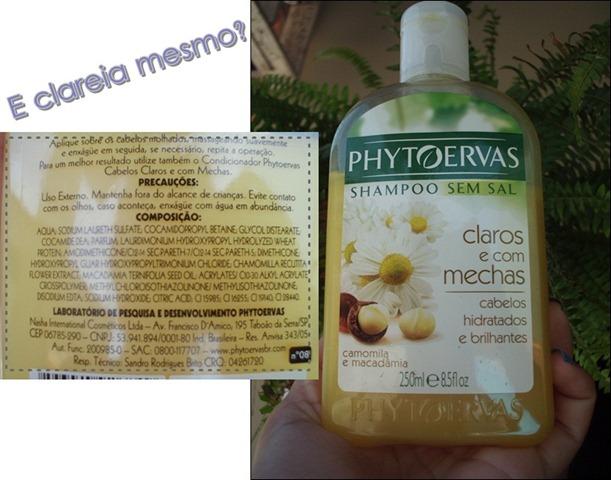 Para cabelos claros e com mechas: Phytoervas