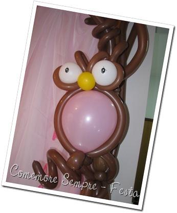 Corujinhas em balão; Corujas de bexiga