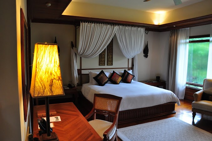 Imagini Thailanda: Camera de la Hotel Four Seasons in Chiang Mai, Thailanda