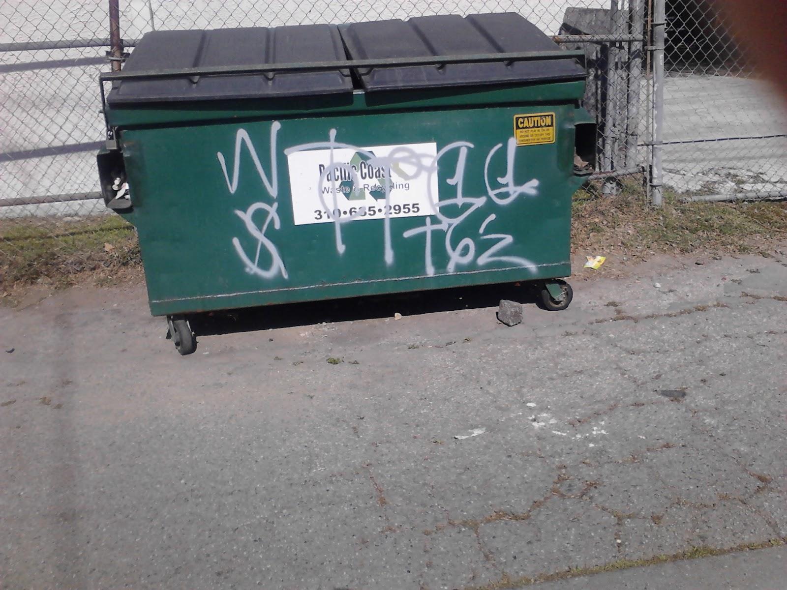 Compton Crip Graffiti Tragniew Park Compton Crip