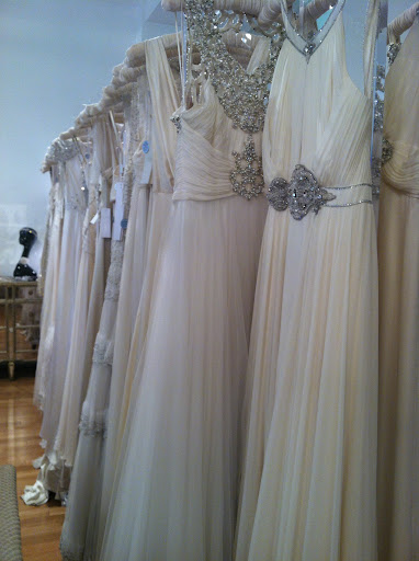 Rows and rows of Jenny Packham gowns - all for a fraction of the original price!