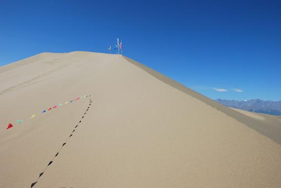 Tianshan - Dune Ming Shashan au sommet