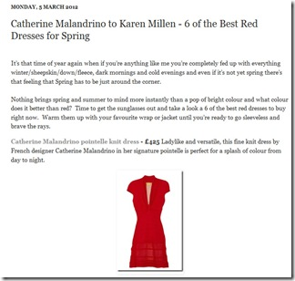 6 of the Best Red Dresses for Spring