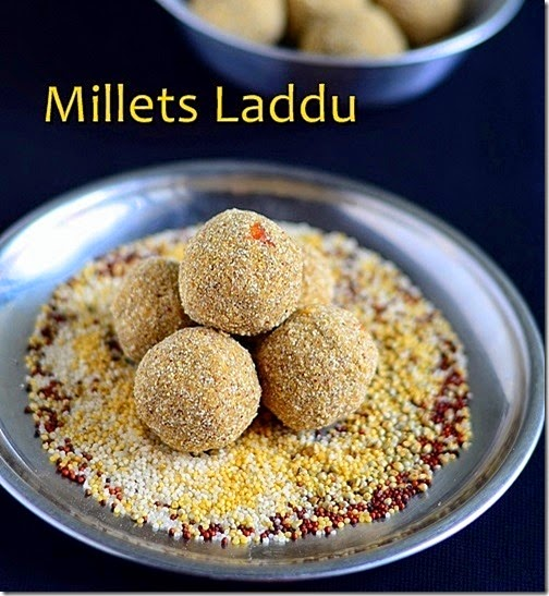 millets laddu recipe