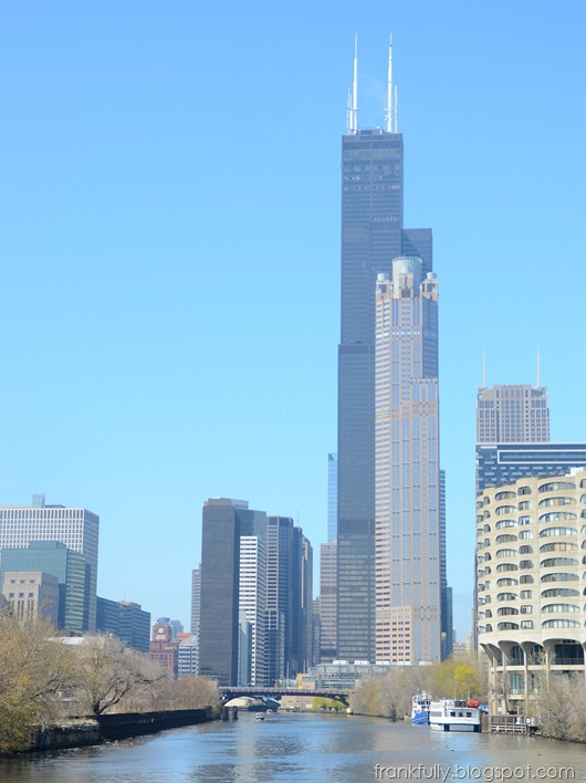 The Sears (Willis) Tower from the Chicago River