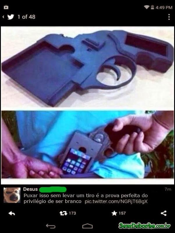 O PRIVILÉGIO DE SER BRANCO!