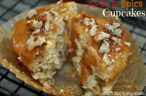 Apple Spice Cupcake
