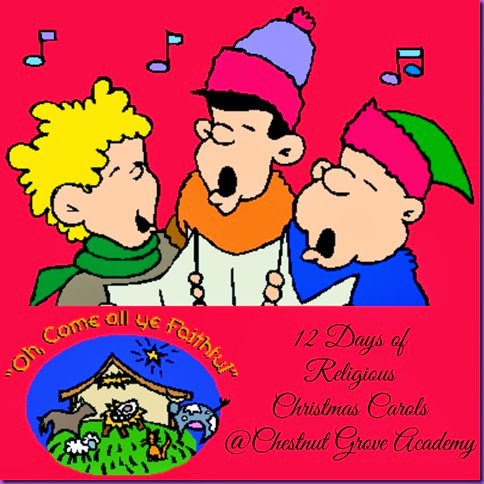 christmas carols collage