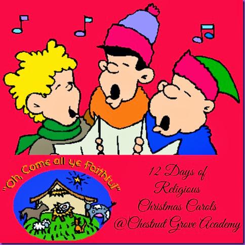 christmas carols collage