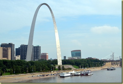 Arch from across River