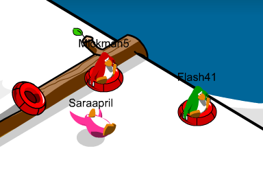 how to join friends in club penguin