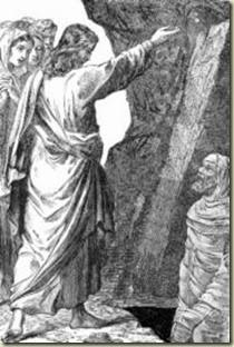 Jesus raises Lazarus-5x