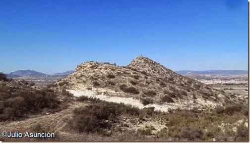 Poblado de la Edad del Bronce de Portitxol desde el este - Monforte del Cid