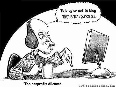 To blog or not to blog - that is a question...