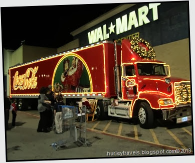 CocaCola Christmas Truck, Beaux Bridge, LA
