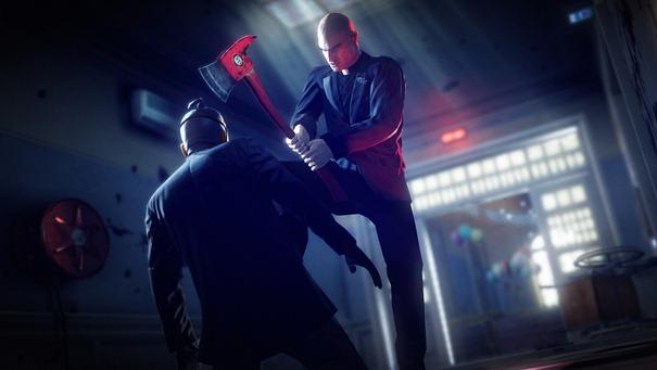 Agente 47 dando uma de Gasai Yuno