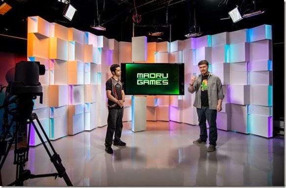 Gravação do novo programa semanal Madrugames (Foto: Marcelo Brandt/G1)