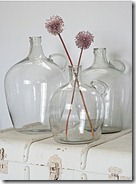 Nordic House Retro Glass Flacon