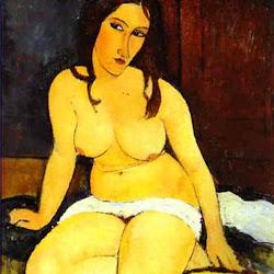 Modigliani, Seated Nude 1917
