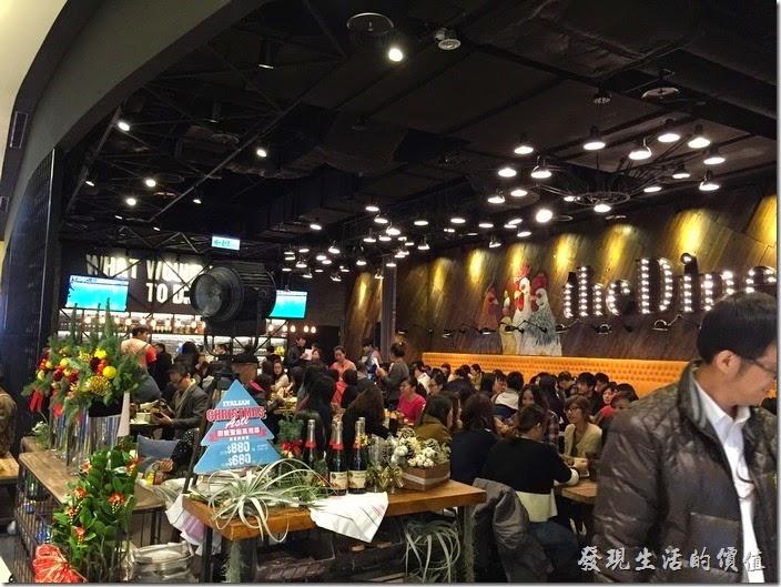 南港-中信總部A棟二樓-樂子The Dinner,美式餐廳。