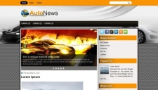 Autonews blogger template 225x128