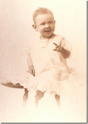 Baby July 1 1914
