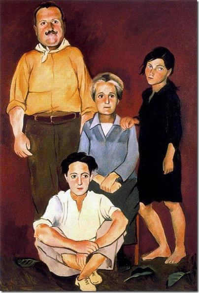 Josep de Togores i Llach -La familia Curzio_ 1931