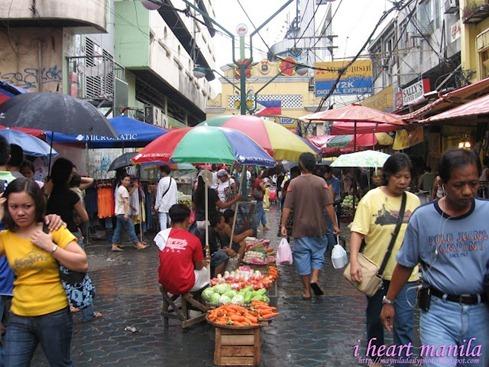 hidalgo street i heart manila