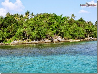 Pulau kecil yang ada di karimunjawa