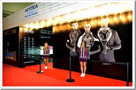 Mystica presenta su nueva colección en el Estrella Damm Masters Finals WPT Ifema 2013.