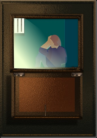 I spy a prisoner.
