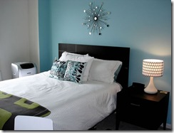 black and white and blue bedroom-2