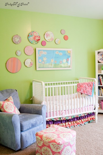 bright happy nursery