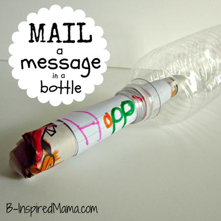 Mailbox Message in a Bottle 3