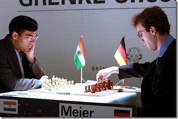 Anand vs Meir, Round 8, GRENKE Chess