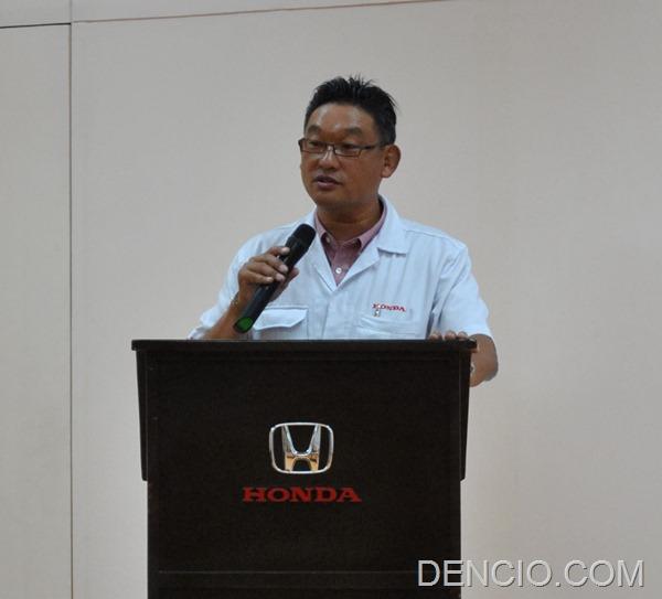 Tatsuya Natsume Honda Philippines President