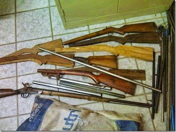Armas apreendidas (1)