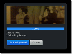 Search by Image — Step 2. Wait while it uploads for searching