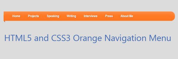 html5-css3-navigation-menu