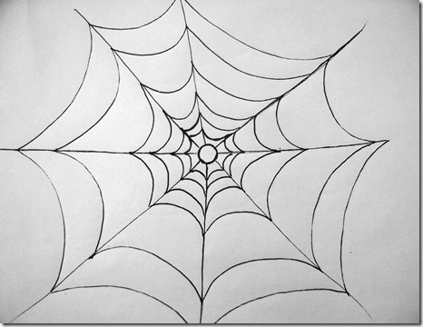 draw-a-spiderweb